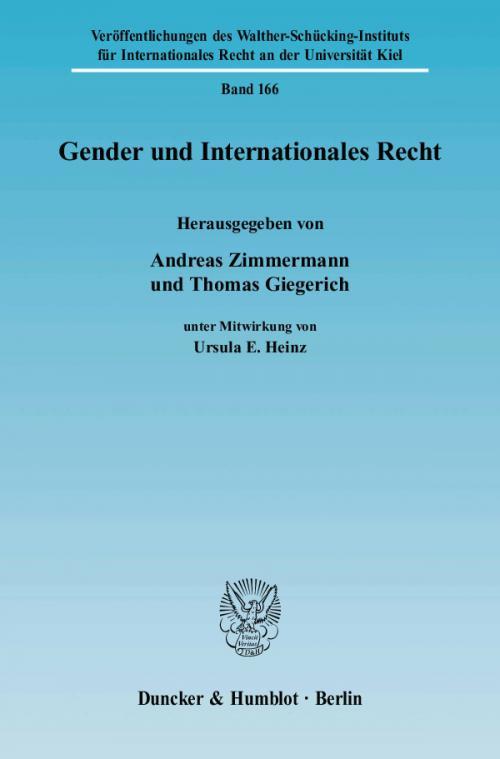 Gender und Internationales Recht. cover