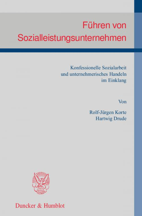 Führen von Sozialleistungsunternehmen. cover