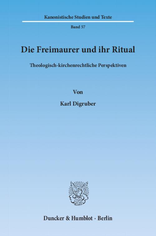 Die Freimaurer und ihr Ritual. cover