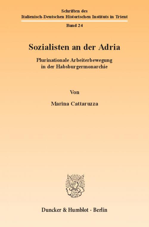 Sozialisten an der Adria. cover