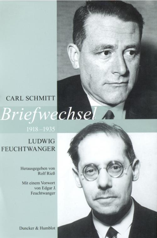 Briefwechsel 1918–1935. cover