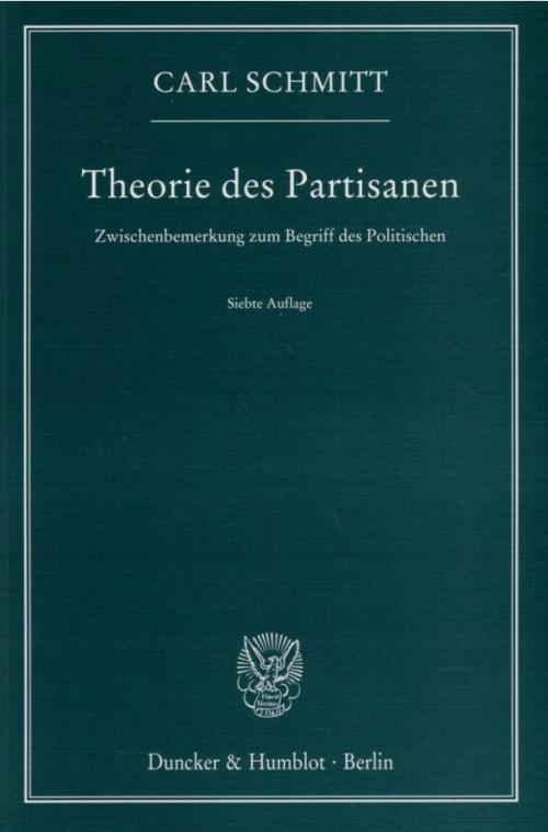 Theorie des Partisanen. cover