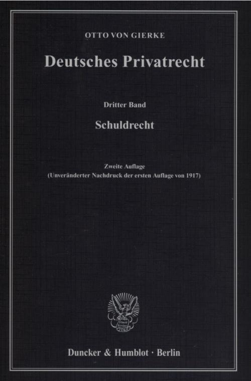 Deutsches Privatrecht. cover