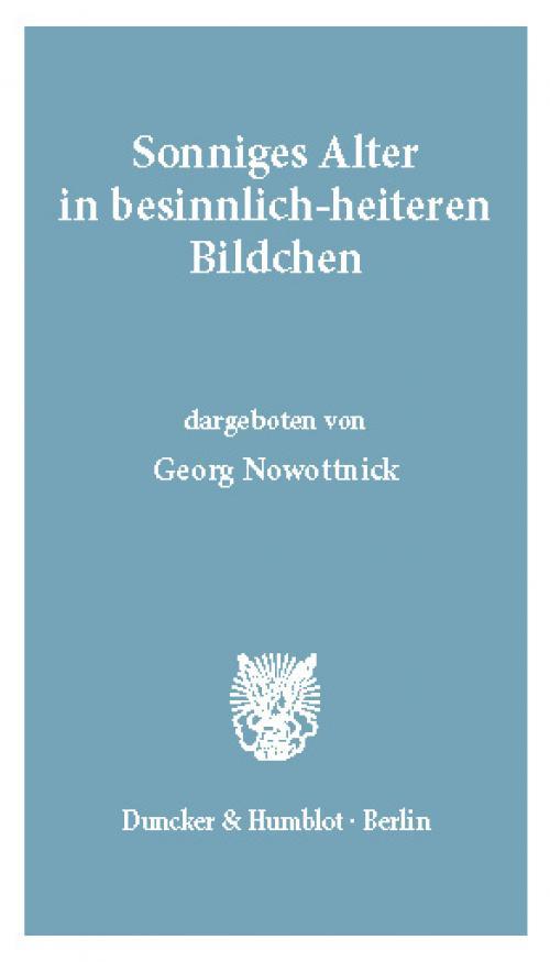 Sonniges Alter in besinnlich-heiteren Bildchen. cover