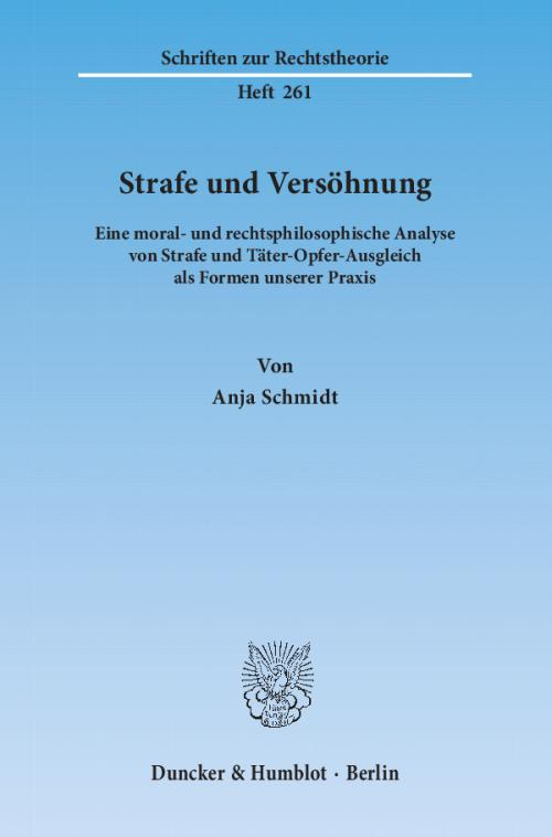 Strafe und Versöhnung. cover