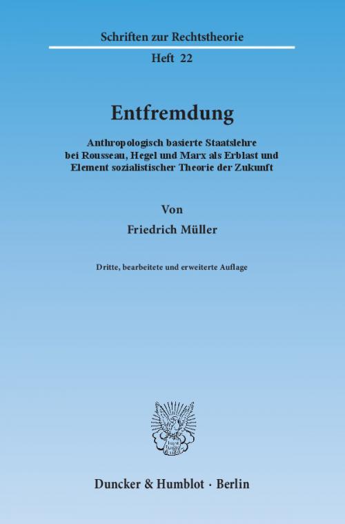 Entfremdung. cover