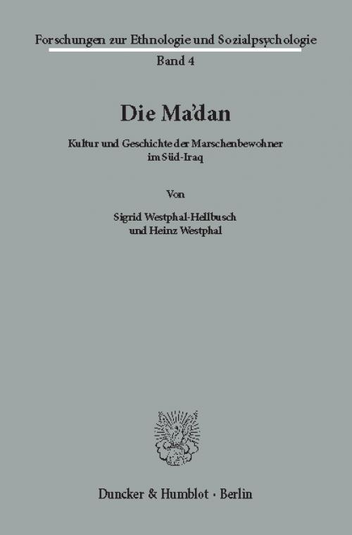 Die Ma'dan. cover