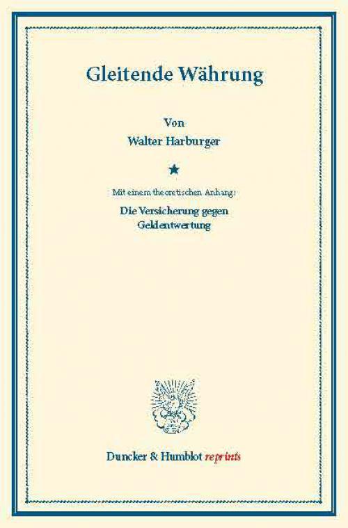 Gleitende Währung. cover
