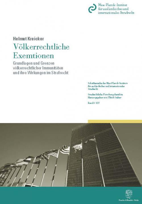Völkerrechtliche Exemtionen. cover