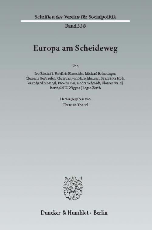 Europa am Scheideweg. cover