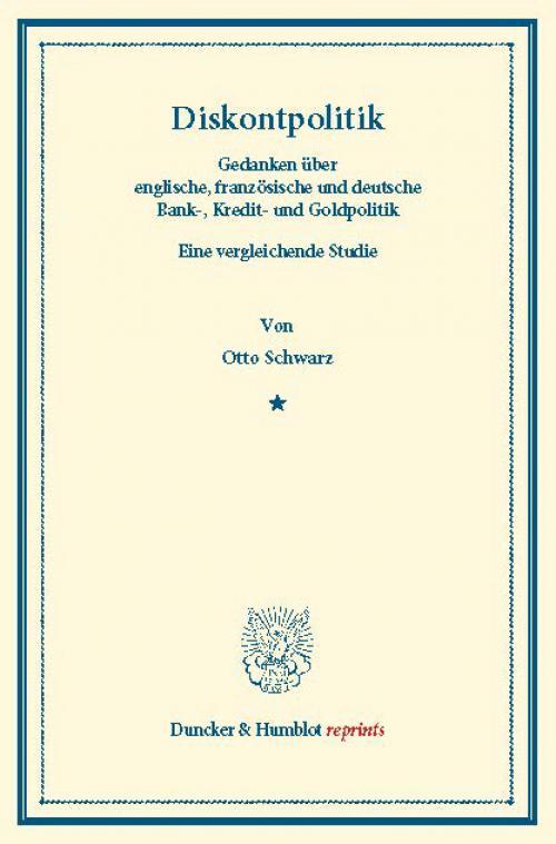 Diskontpolitik. cover