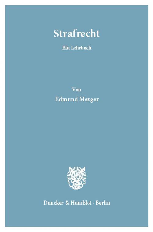 Strafrecht. cover