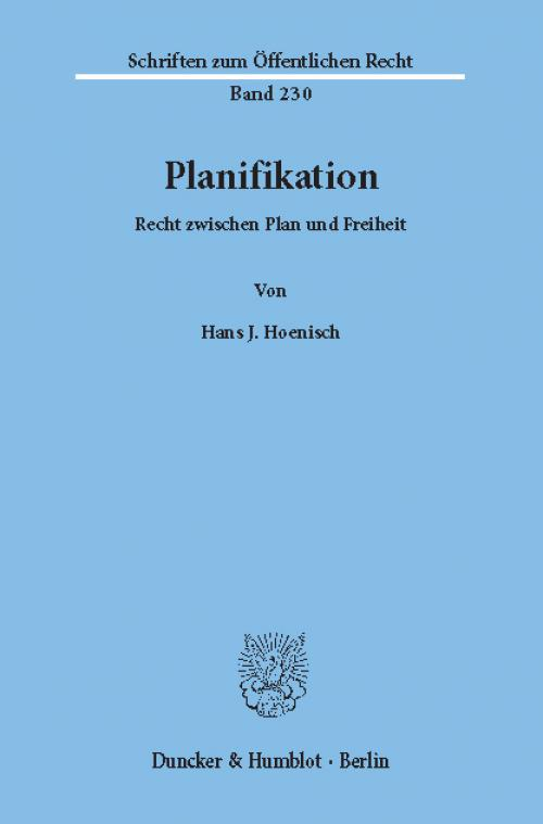Planifikation. cover