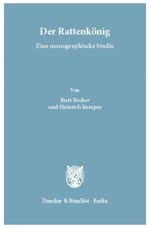 Der Rattenkönig. cover
