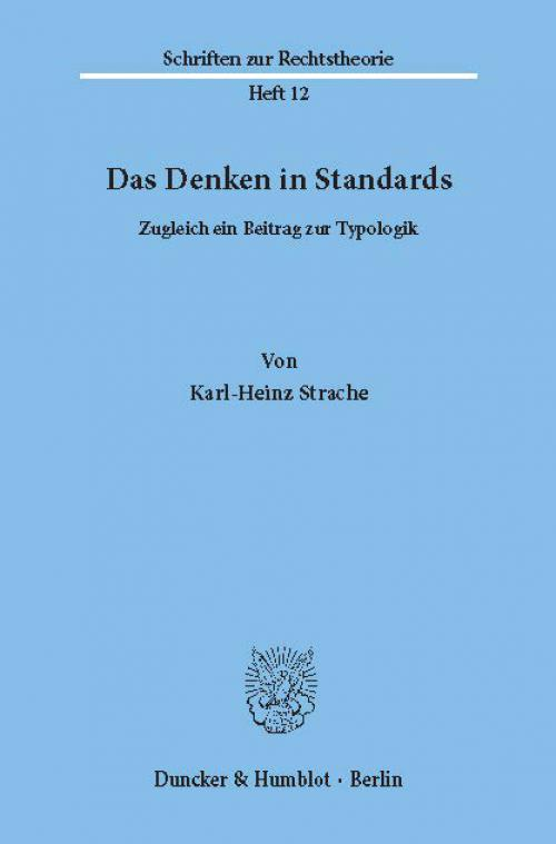 Das Denken in Standards. cover