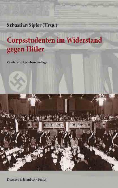 Corpsstudenten im Widerstand gegen Hitler. cover