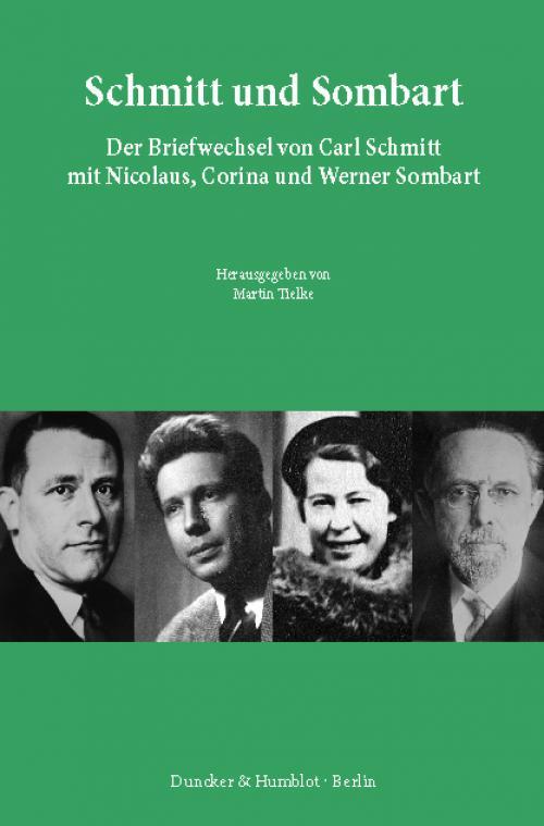 Schmitt und Sombart. cover