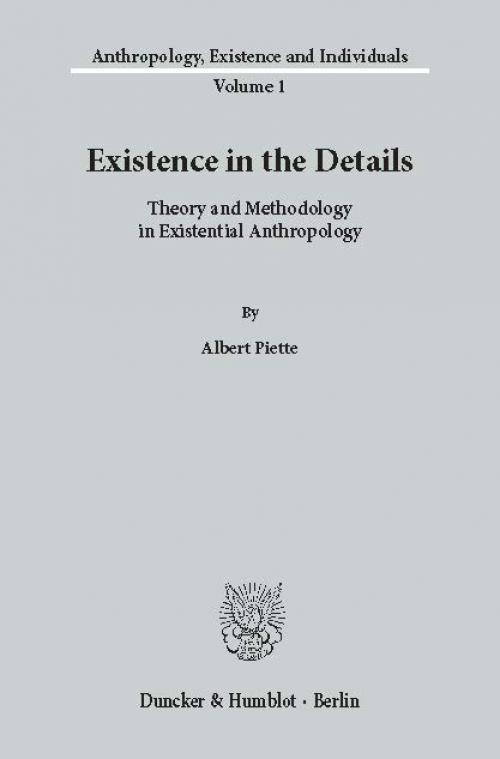 Existence in the Details. cover