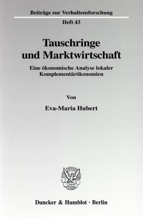 Tauschringe und Marktwirtschaft. cover