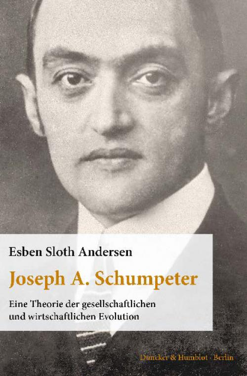 Joseph A. Schumpeter. cover