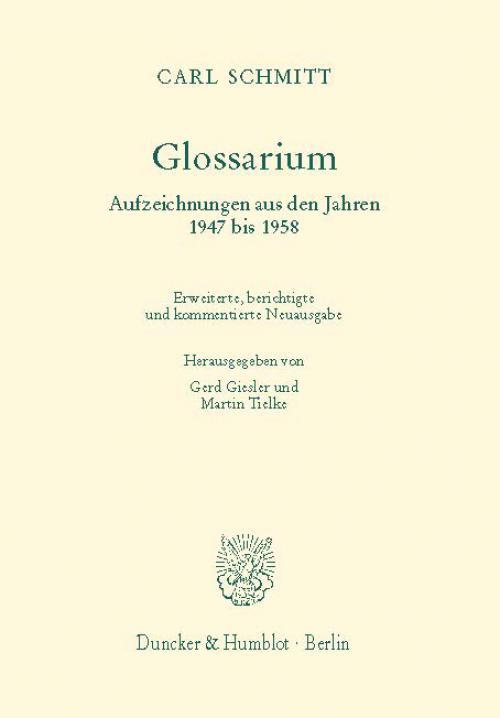 Glossarium. cover