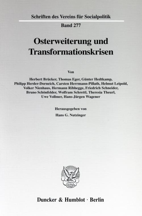 Osterweiterung und Transformationskrisen. cover