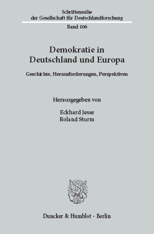 Demokratie in Deutschland und Europa. cover