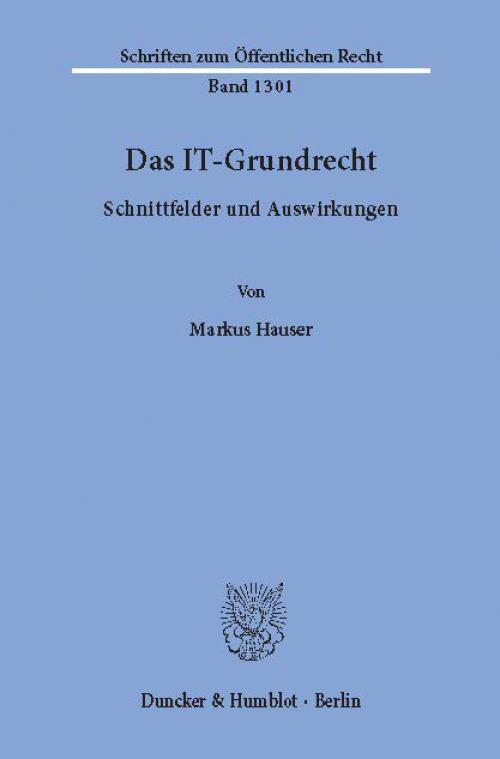 Das IT-Grundrecht. cover