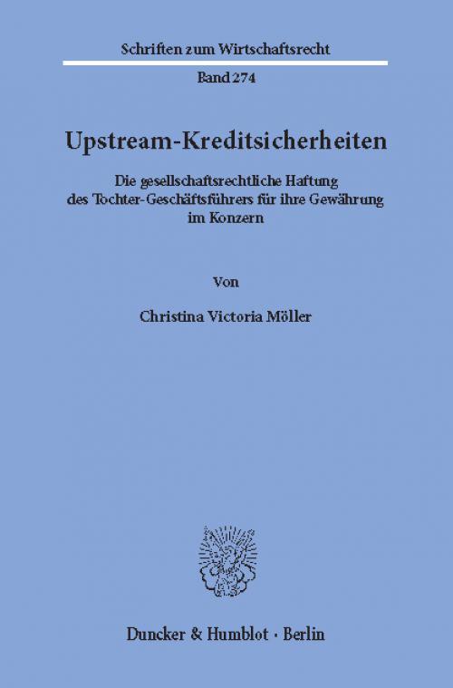 Upstream-Kreditsicherheiten. cover