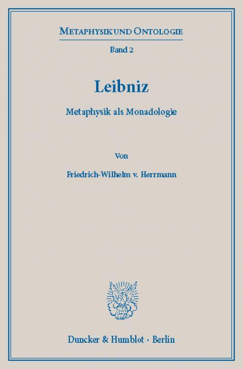 Leibniz. cover
