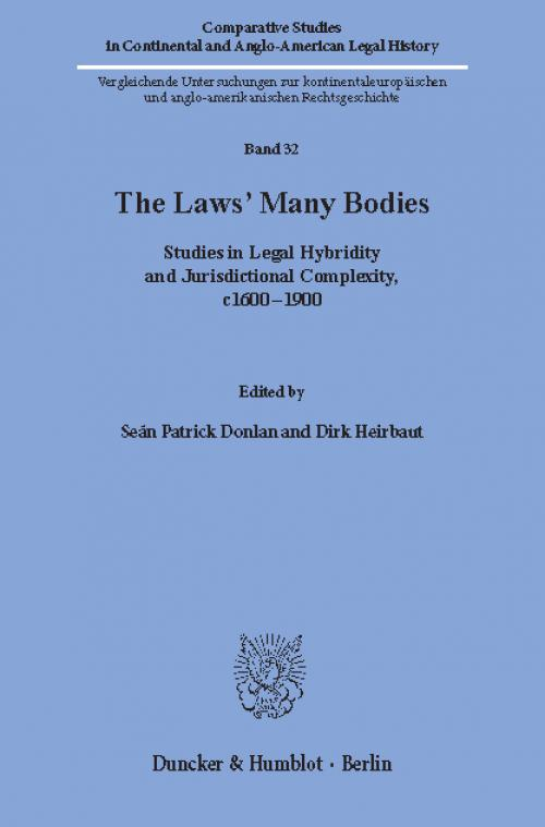 The Laws' Many Bodies. cover