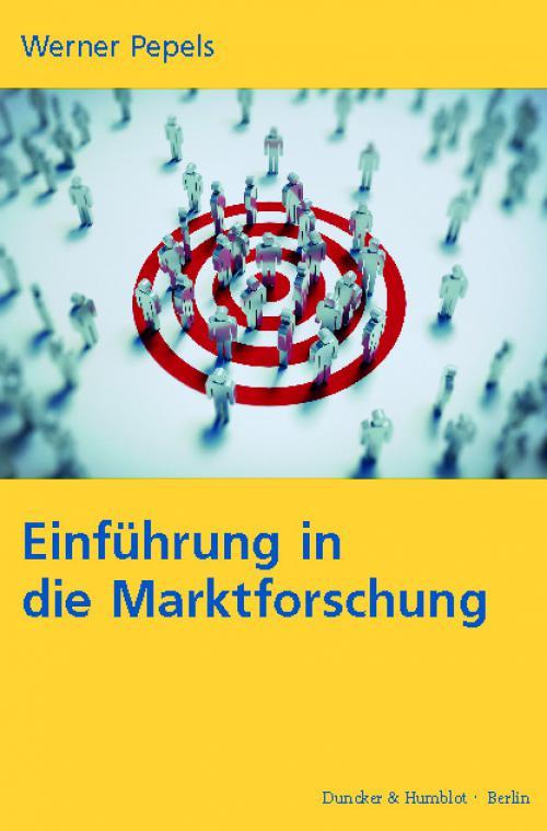Einführung in die Marktforschung. cover