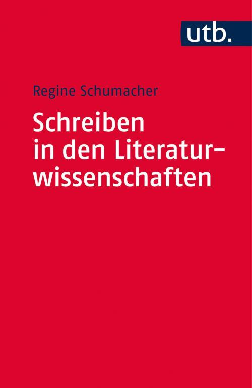 Schreiben in den Literaturwissenschaften cover