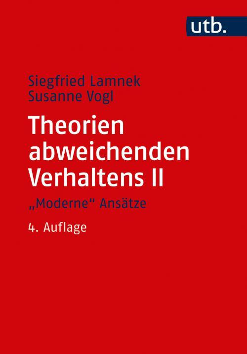 Theorien abweichenden Verhaltens II.