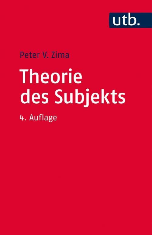 Theorie des Subjekts cover