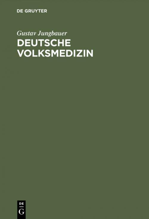 Deutsche Volksmedizin cover