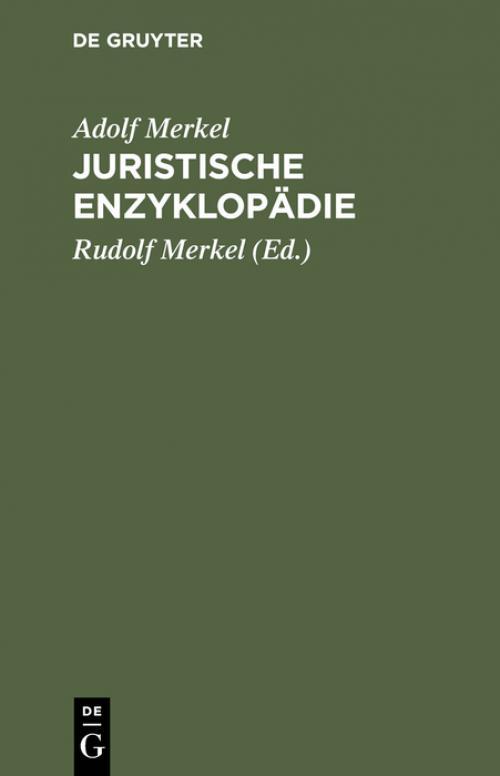 Juristische Enzyklopädie cover
