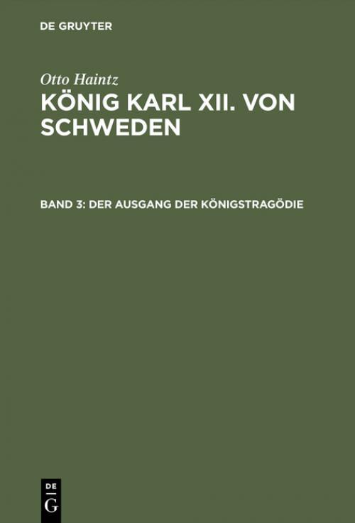 Der Ausgang der Königstragödie (1715–1719) cover