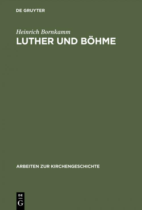 Luther und Böhme cover