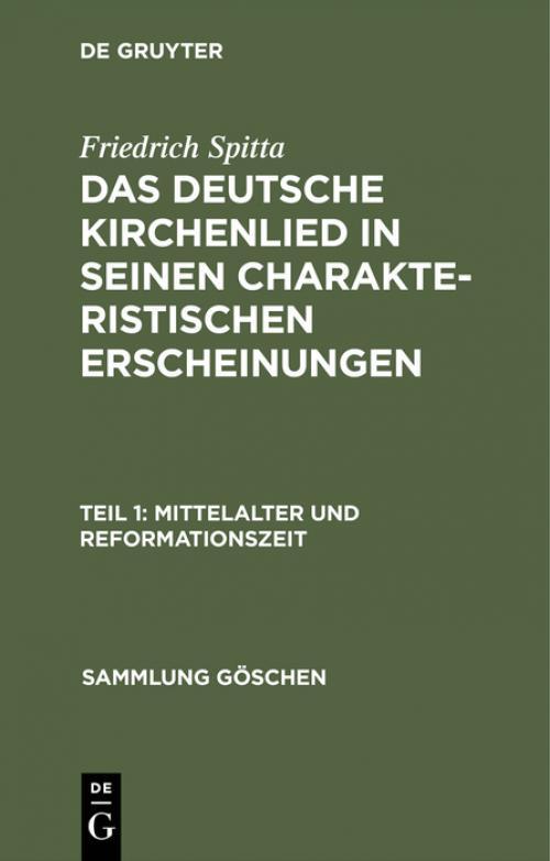 Mittelalter und Reformationszeit cover