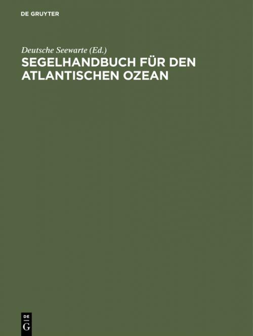 Segelhandbuch für den Atlantischen Ozean cover