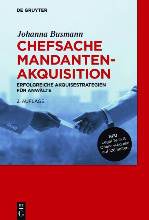 Chefsache Mandantenakquisition cover
