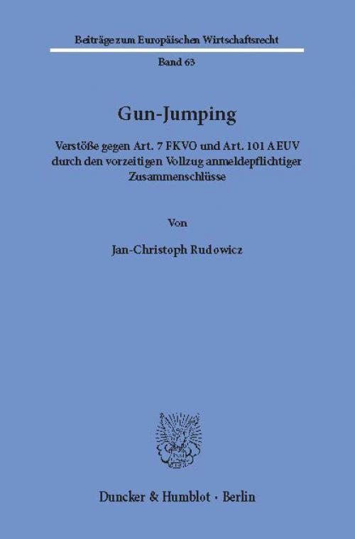 Gun-Jumping. cover