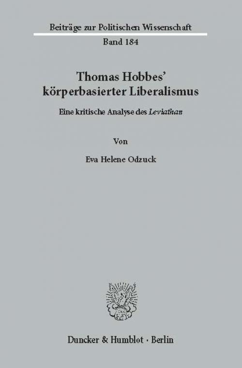 Thomas Hobbes' körperbasierter Liberalismus. cover