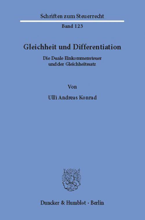 Gleichheit und Differentiation. cover
