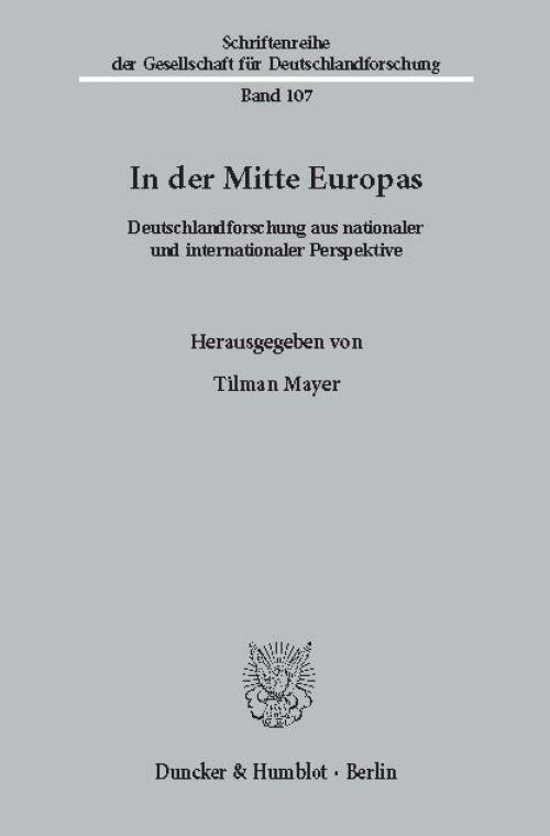 In der Mitte Europas. cover