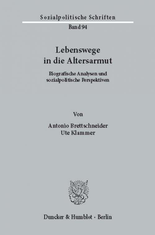 Lebenswege in die Altersarmut. cover