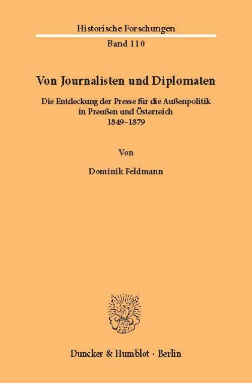 Von Journalisten und Diplomaten. cover