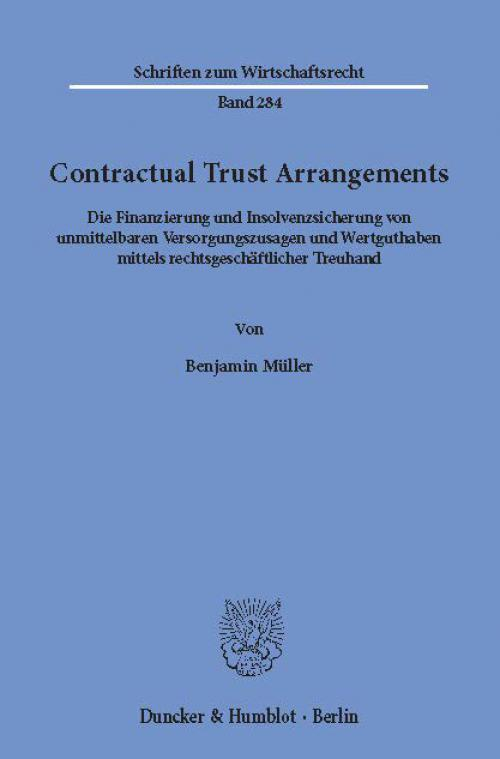 Contractual Trust Arrangements. cover
