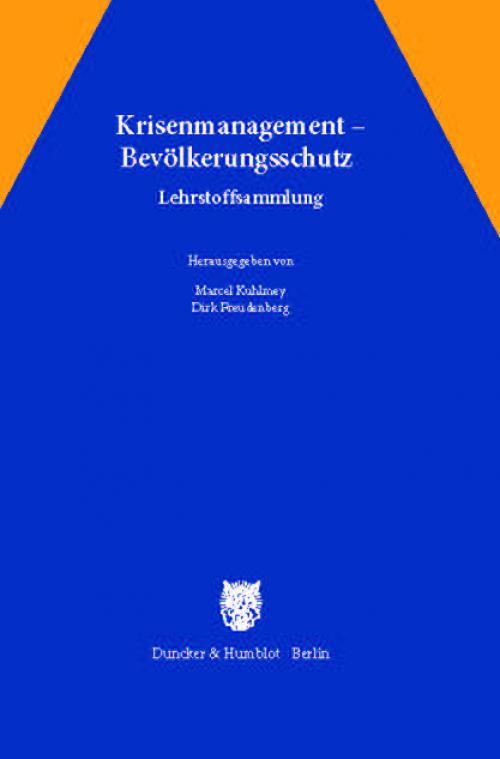 Krisenmanagement – Bevölkerungsschutz. cover